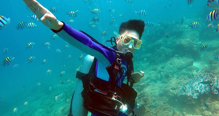 蜈支洲岛-优选进阶潜水